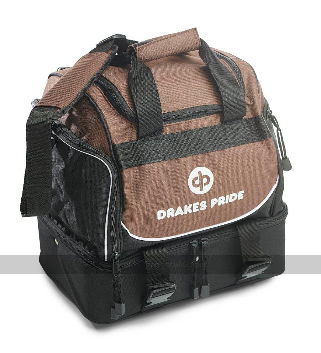 DRAKES PRIDE CROWN GREEN FLAT GREEN 4 BOWL PRO MIDI BAG **B4250**