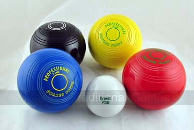 Drakes Pride Professional Junior Bowls (set of 4)