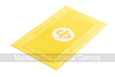 Regulation Bowls Foot Mats (pack of 12, yellow)