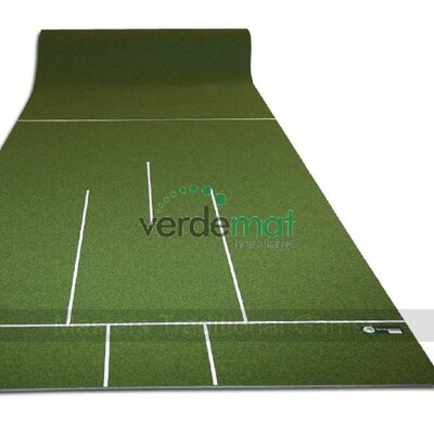 Wygreen Light Carpet Bowls Mat (pre-marked)