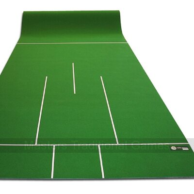 Clubgreen Premier 30 ft Mat (pre-marked) for Carpet Bowls