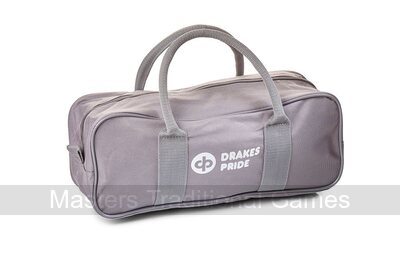 Drakes Pride 2 Bowl & Jack Bag - Grey