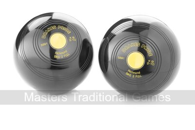 Drakes Pride Richmond Crown Green Bowls (pair, without grips)