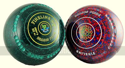 Drakes Pride Fineline bowls (set of 4, gripped, black, heavyweight)