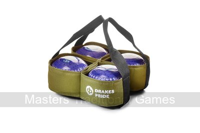 Drakes Pride 4 Bowl Carrier (Green)