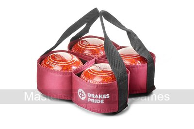 Drakes Pride 4 Bowl Carrier (Maroon)