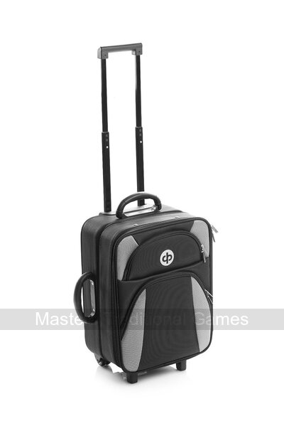 Drakes Pride High Roller Trolley Bag - Black
