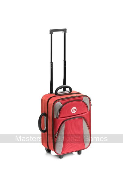 Drakes Pride High Roller Trolley Bag - Maroon
