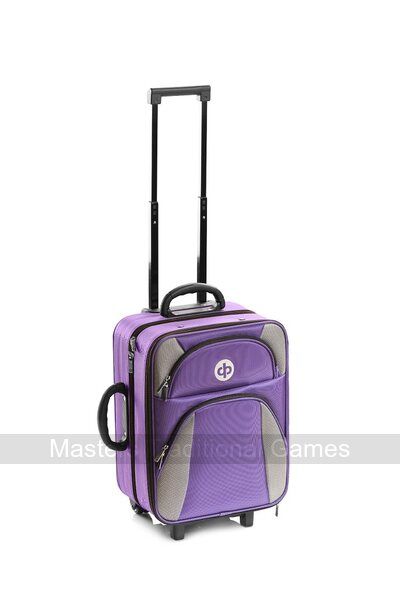 Drakes Pride High Roller Trolley Bag - Purple