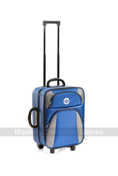 Drakes Pride High Roller Trolley Bag - Royal Blue