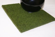 Wygreen County Carpet Bowls Mat