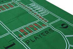 Baccarat / Punto Banco Table Cloth / Felt Layout (180 x 90cm)