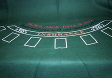 Blackjack Table Cloth