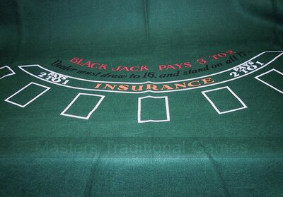 Blackjack Cloth