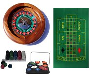 Dal Negro Home Roulette Bundle - Mahogany Wheel