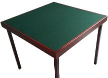 Pelissier Club Bridge Table - Felt Surface
