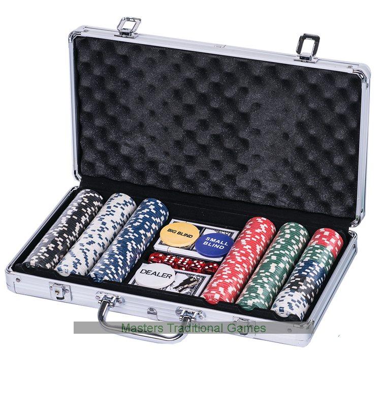 Casino poker chips set