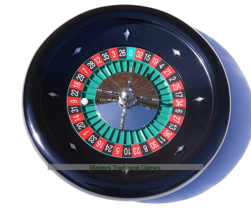 Dal Negro Bakelite Roulette Wheel 35cm