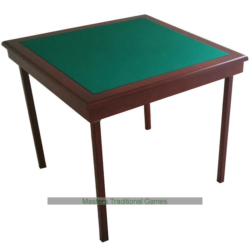 High Quality Pelissier Royal Bridge Table   Mahogany Finish, Green Baize