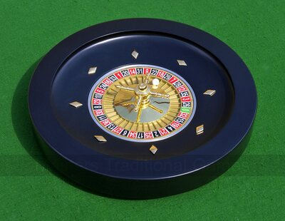 Wooden Roulette Wheel - 36cm