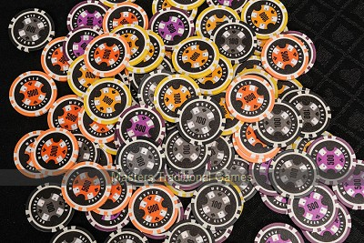 World Poker Club Chips Set - 300 Piece Numbered Poker Set