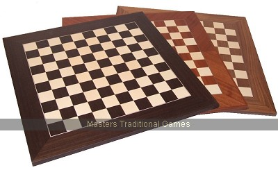 10 x 10 Chequerboard (Mahogany/Maple, 2 feet square)