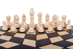 Medium 3 Player Chess Set - 40cm board WITHOUT edge numbers