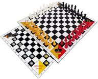 Quadro Chess & Draughts - 4 player