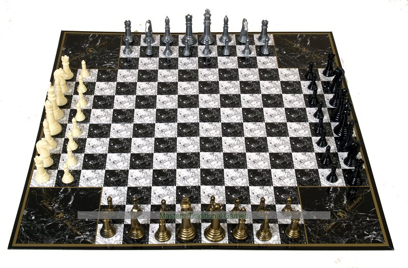 how to play with friends on chess.com 4 player chess