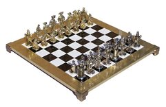 Manopoulos Medieval Knights Chess Set