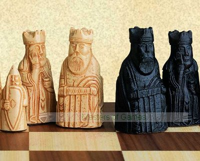 SAC Mini Lewis Chessmen (chess set without board)