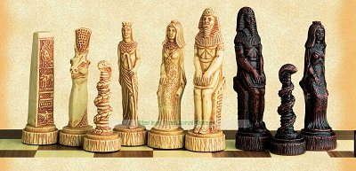Egyptian Chess Set (without board)