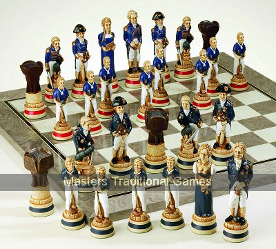 SAC Battle of Trafalgar Chess Set (without board)