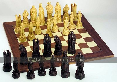 SAC Tower of London Chess Set (without board)
