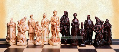 SAC Battle of Culloden Chessmen (without board)