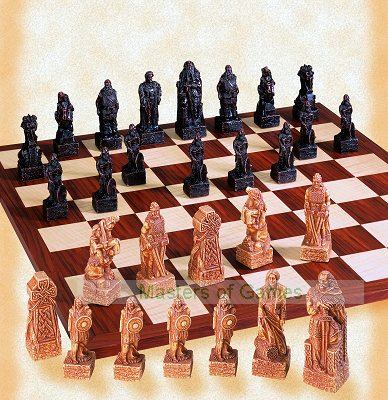 SAC Celtic Chess Set (without board)