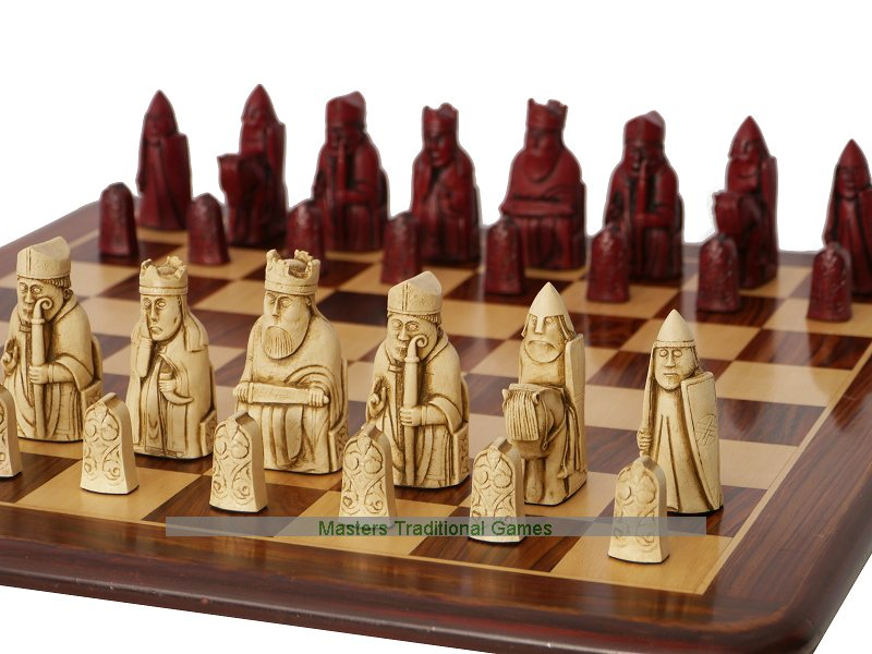 Isle of lewis chess sets buy lewis chessmen - The chessmen chess set ...