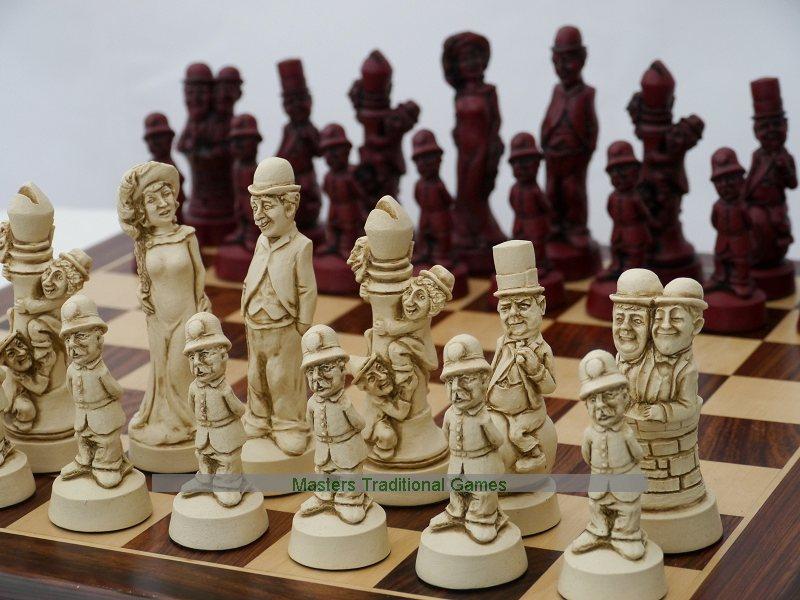 Berkeley chess movie stars ornamental chess set - Ornamental chess sets ...