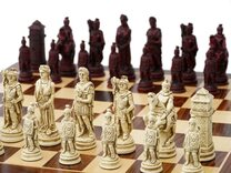 Berkeley Chess Ancient Rome Ornamental Chess set