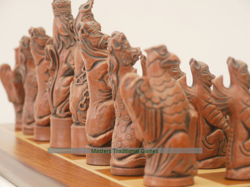 Click Any Picture For A Large Version. Berkeley Royal Beasts Chess Set ...