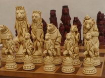 Ornamental Chess Sets