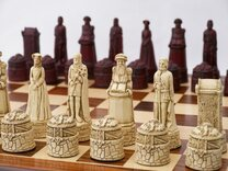 Berkeley Chess Scottish Themed Ornamental Chess Set