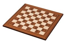 Maple and Sapele Wood Chessboard - 50mm sqaures