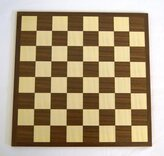 31cm Dual Sided Chequerboard by Dal Negro - 8 x 8 and 10 x 10