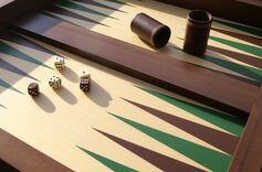 Italfama Chess U0026 Backgammon Table (58cm) ...
