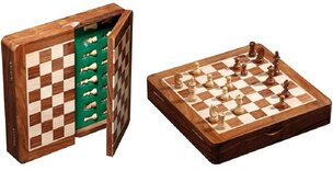 Magnetic Square Chess Cabinet - 25cm