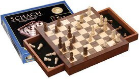 Magnetic Square Chess Cabinet - 30cm