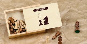 Dal Negro Wooden Chess Pieces