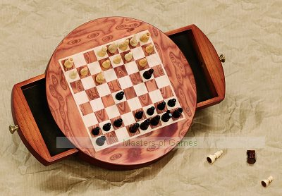 Dal Negro Magnetic Travel Chess Set - 22cm