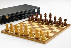 Classic Chess Set - 3 inch King, folding board